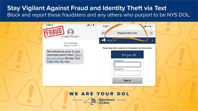 DOL Fraud Alert