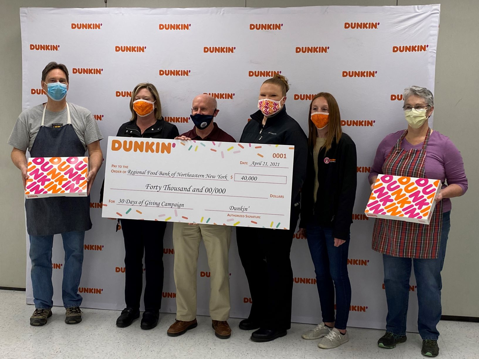 Dunkin-Regional Food Bank of Northeastern New York