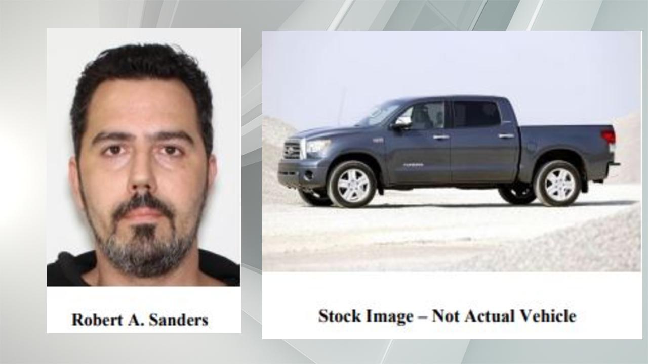 Robert Sanders and Truck