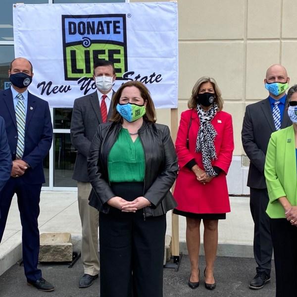 Saratoga County DMV donate life