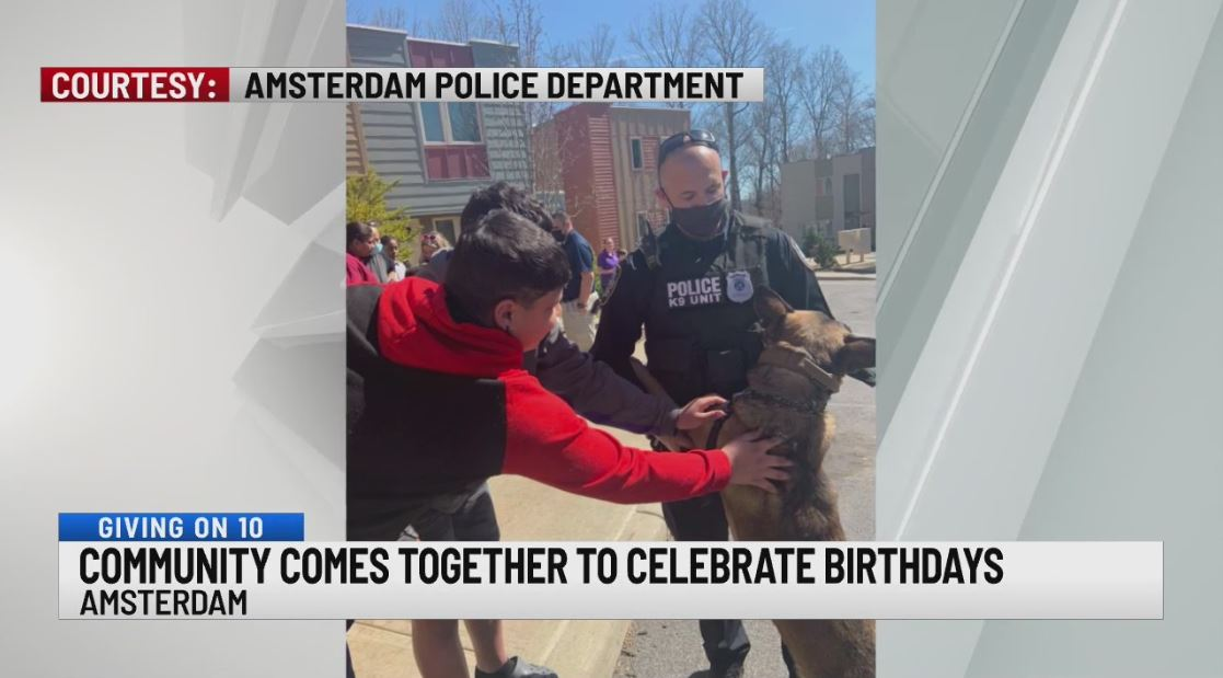 amsterdam police birthday party