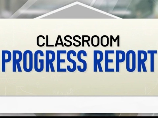 classroom progress report