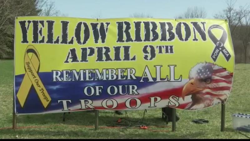 halfmoon yellow ribbon day 040921