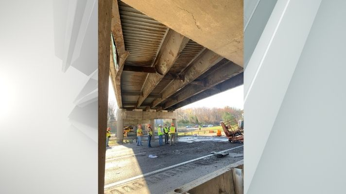 northway sitterly road overpass crash