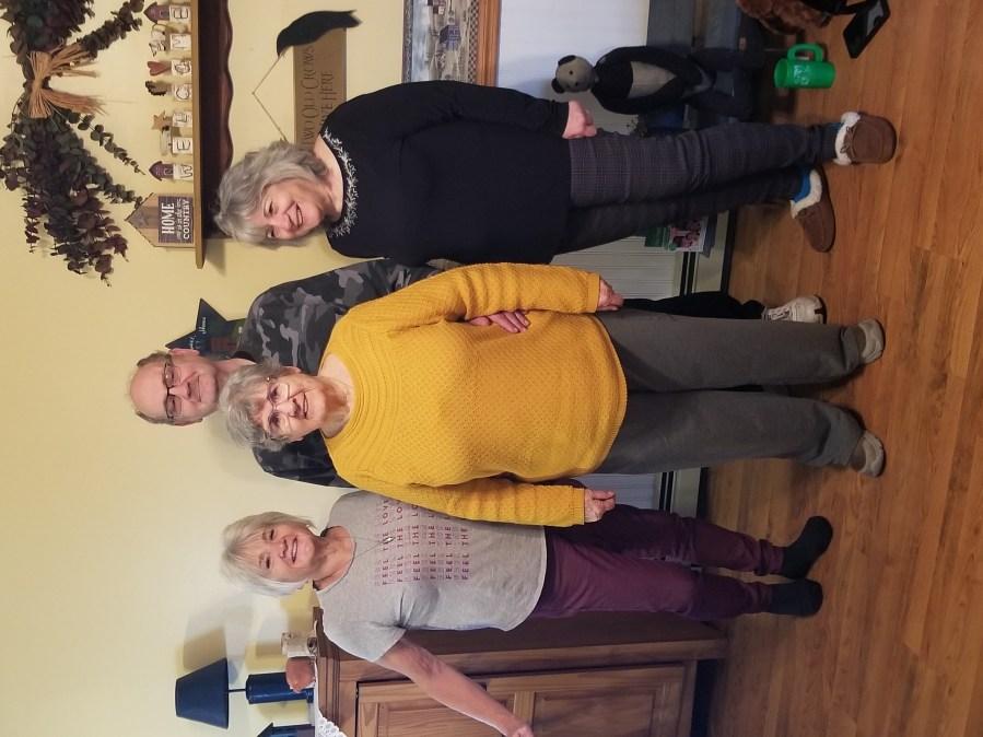 Anne, John and Robin's mom