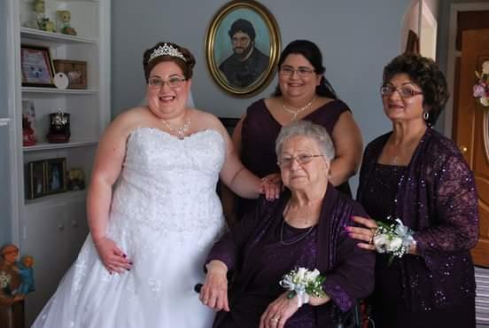 Christina's Mom & Grandma