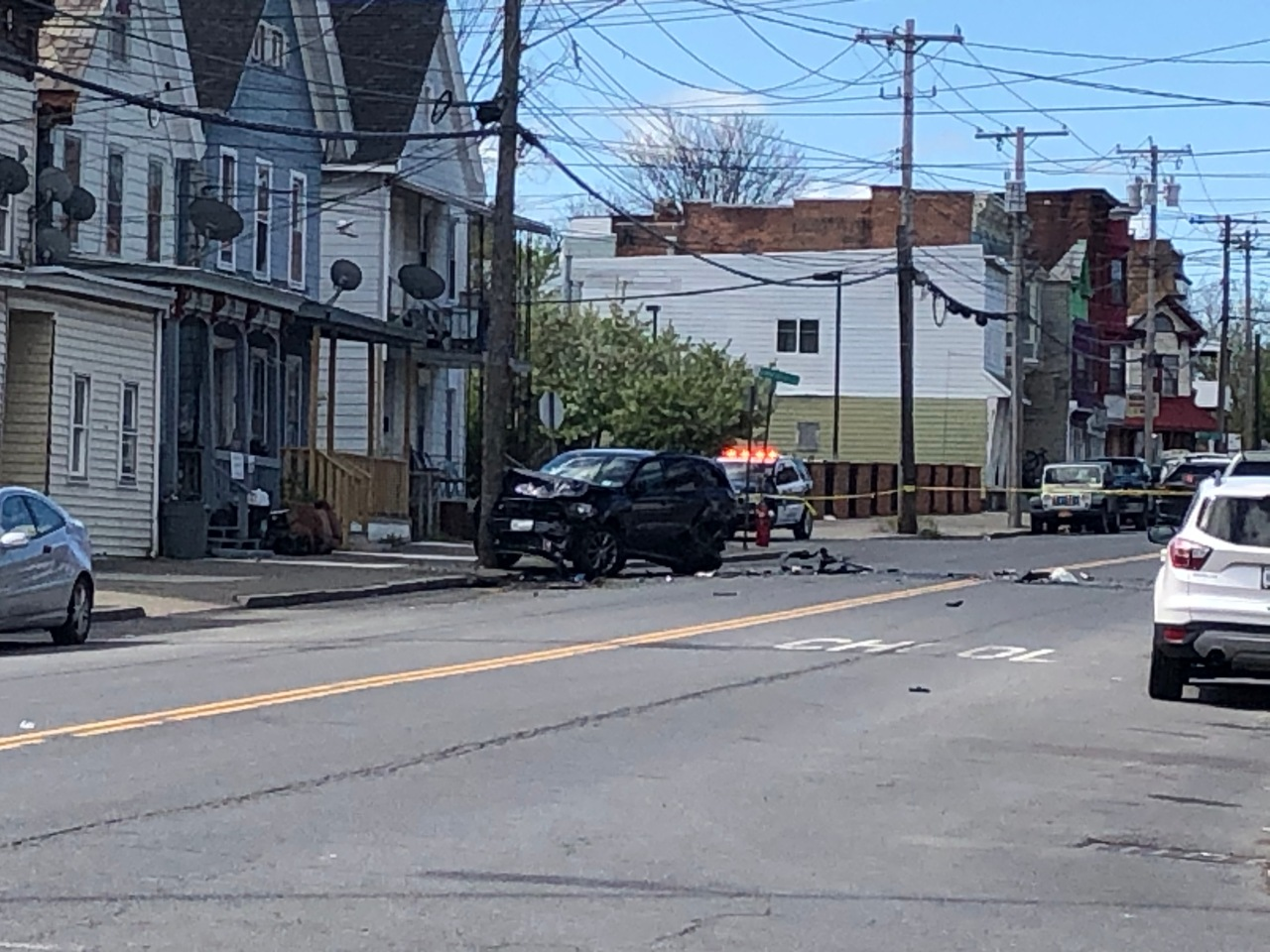 Man in critical condition after multiple car collision in Albany