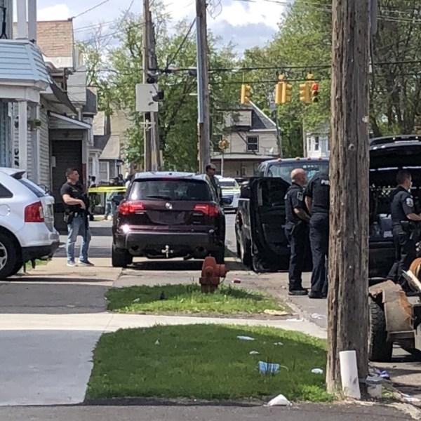 Police activity on Becker Street in Schenectady