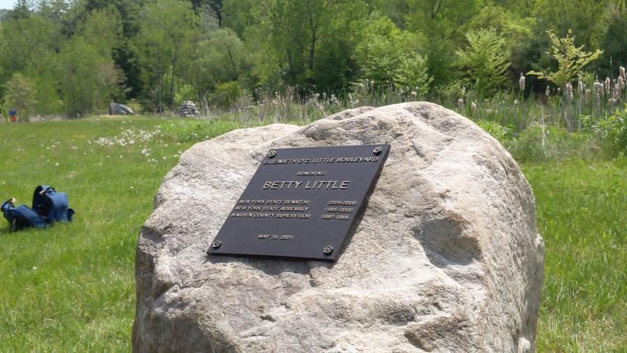 betty little commemorative plaque
