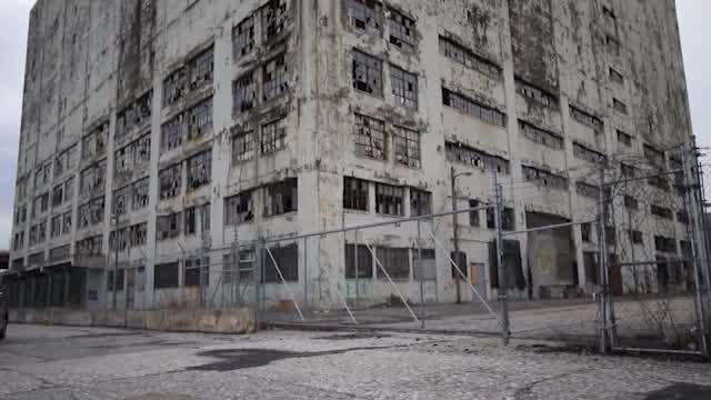 central warehouse albany eyesore