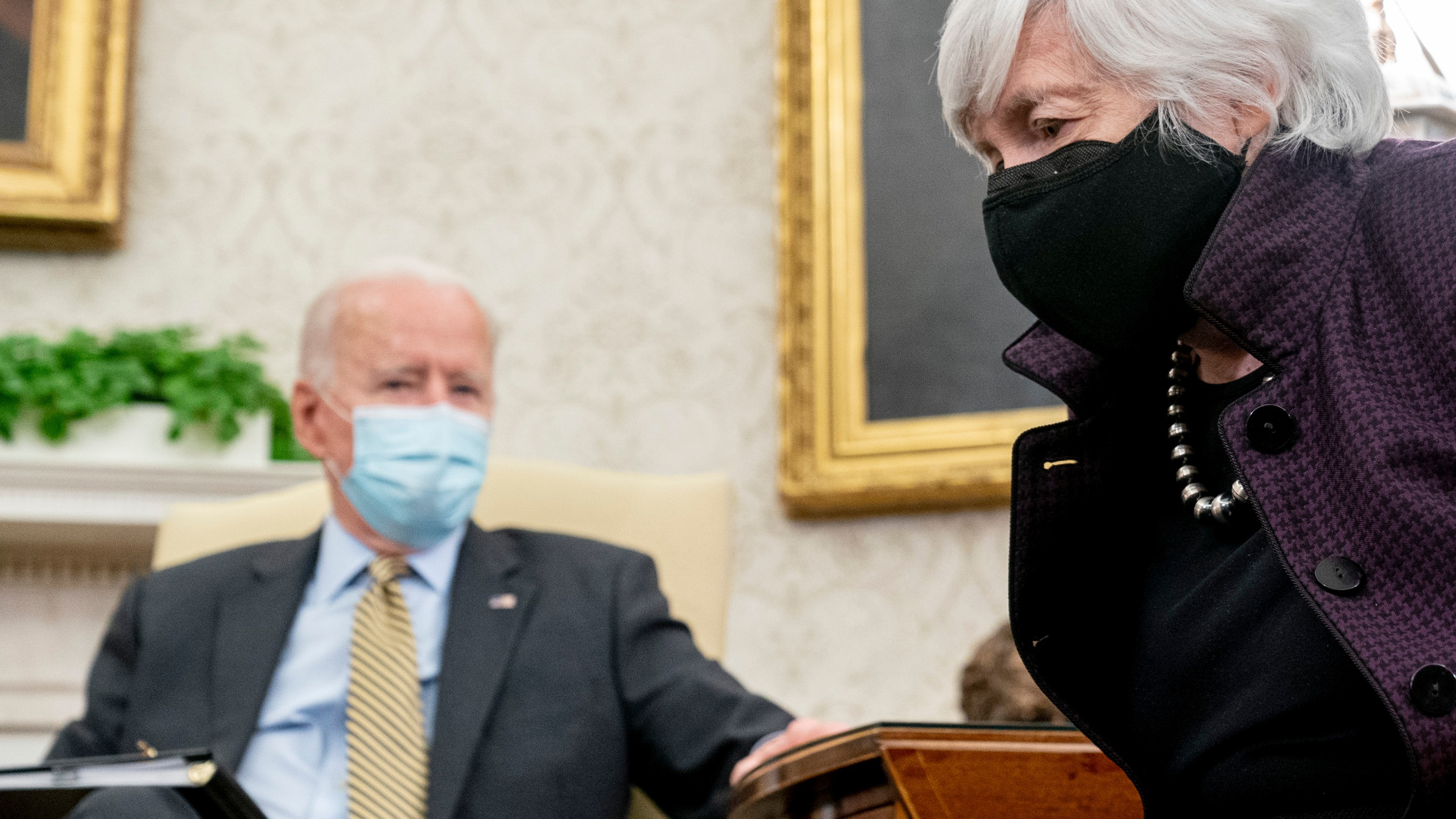 Joe Biden, Janet Yellen