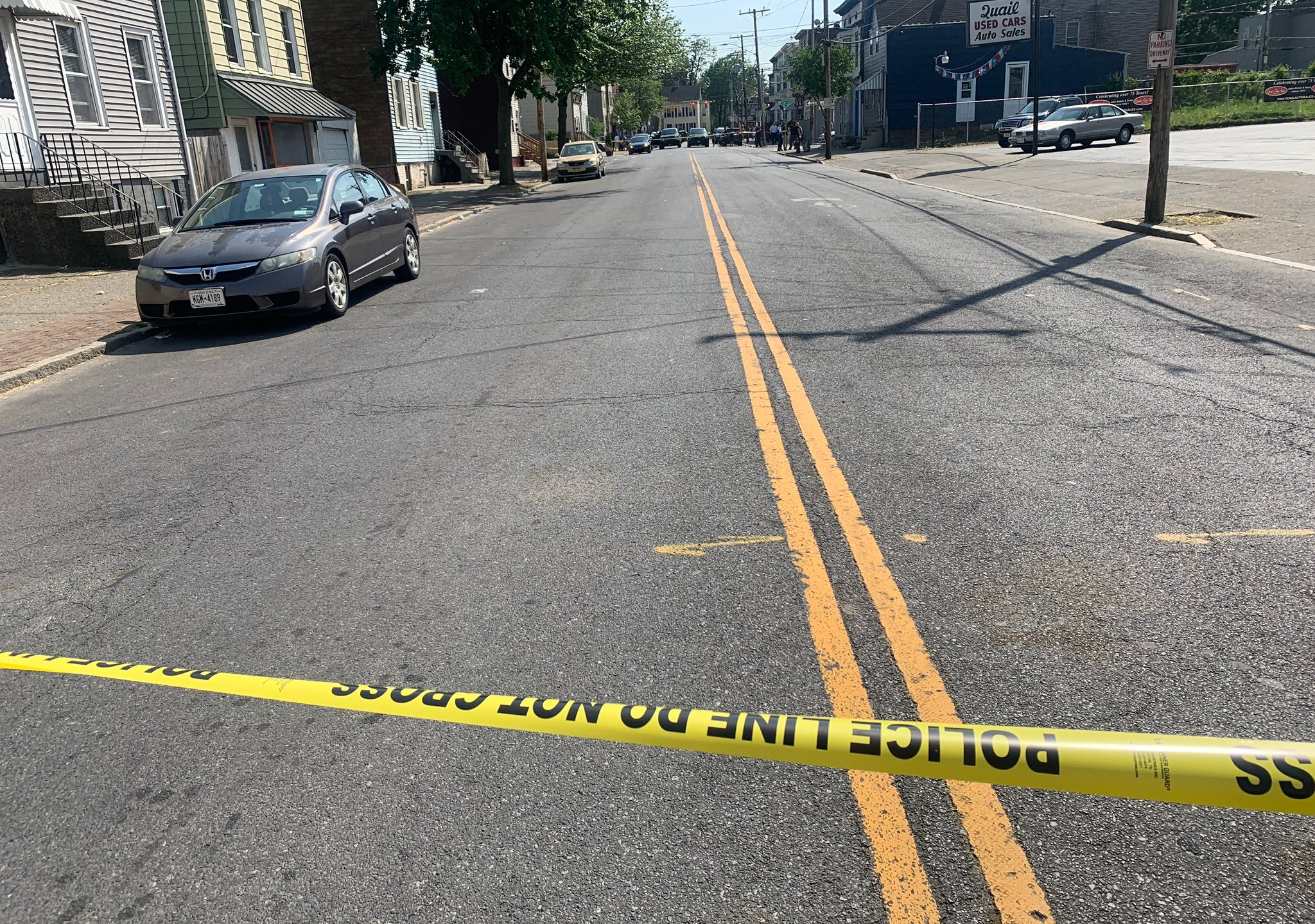 first and quail albany shooting