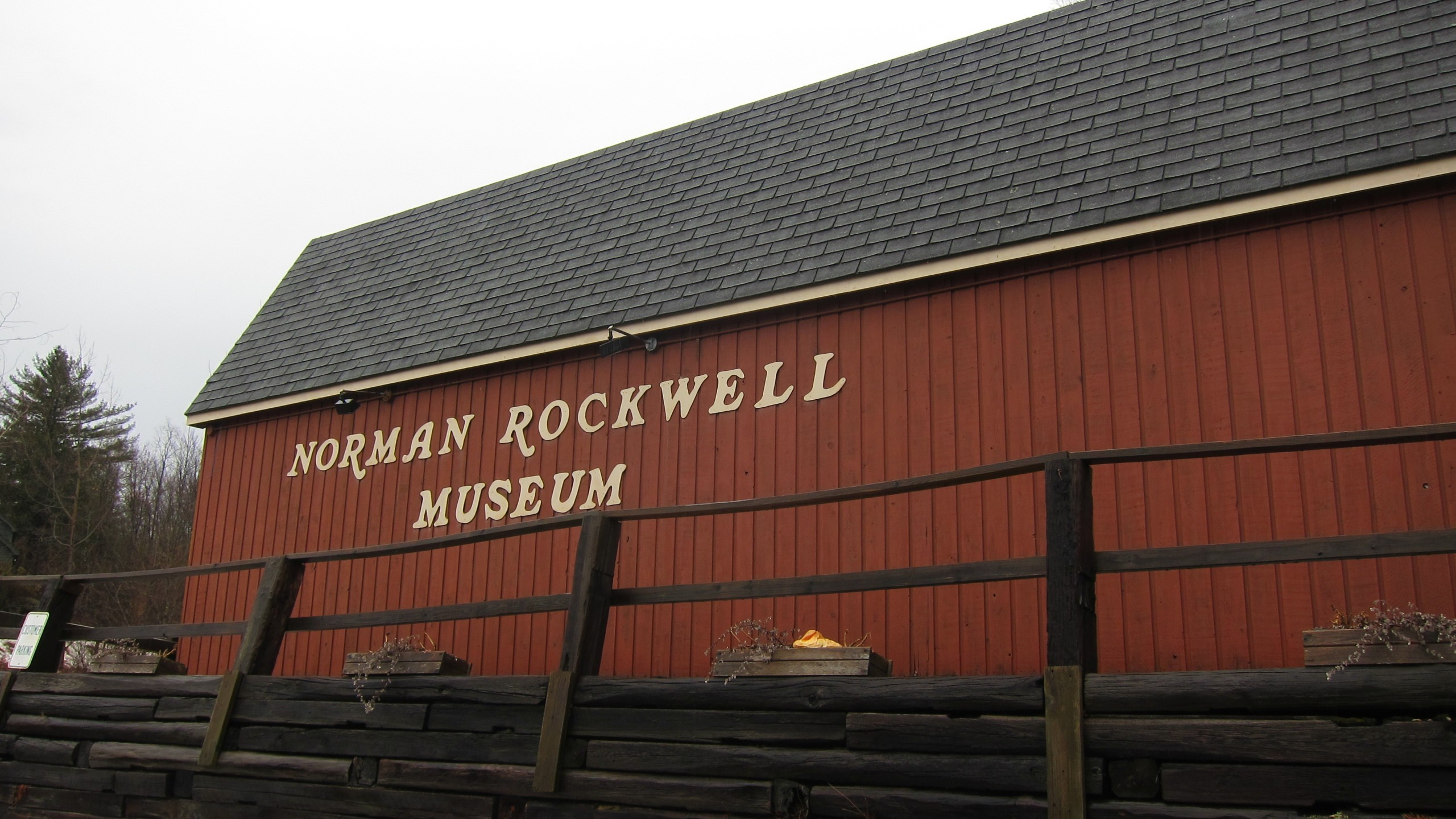 The Norman Rockwell Museum in January 2014 in Rutland, Vermont. (Joe Shlabotnik / Flickr / CC BY-NC-SA 2.0)