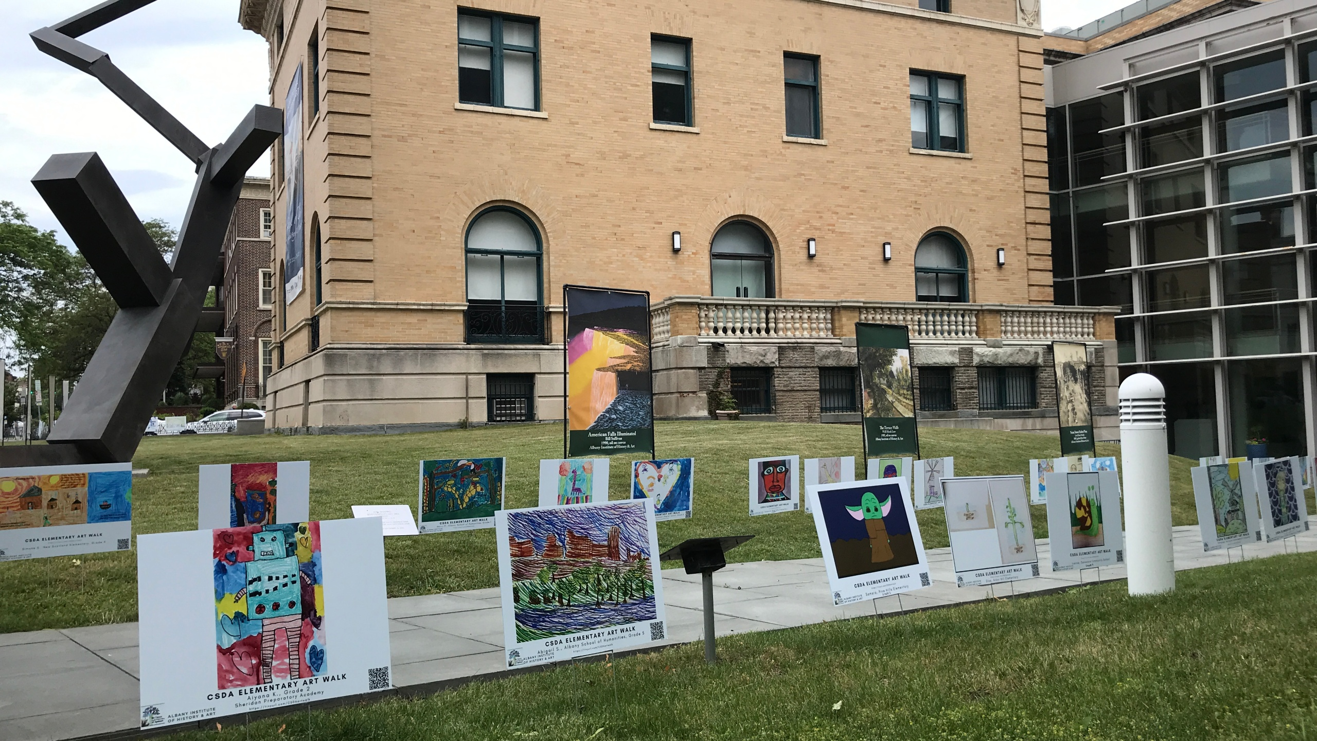2021 CSDA Elementary Art Show (Albany Institute of History and Art)