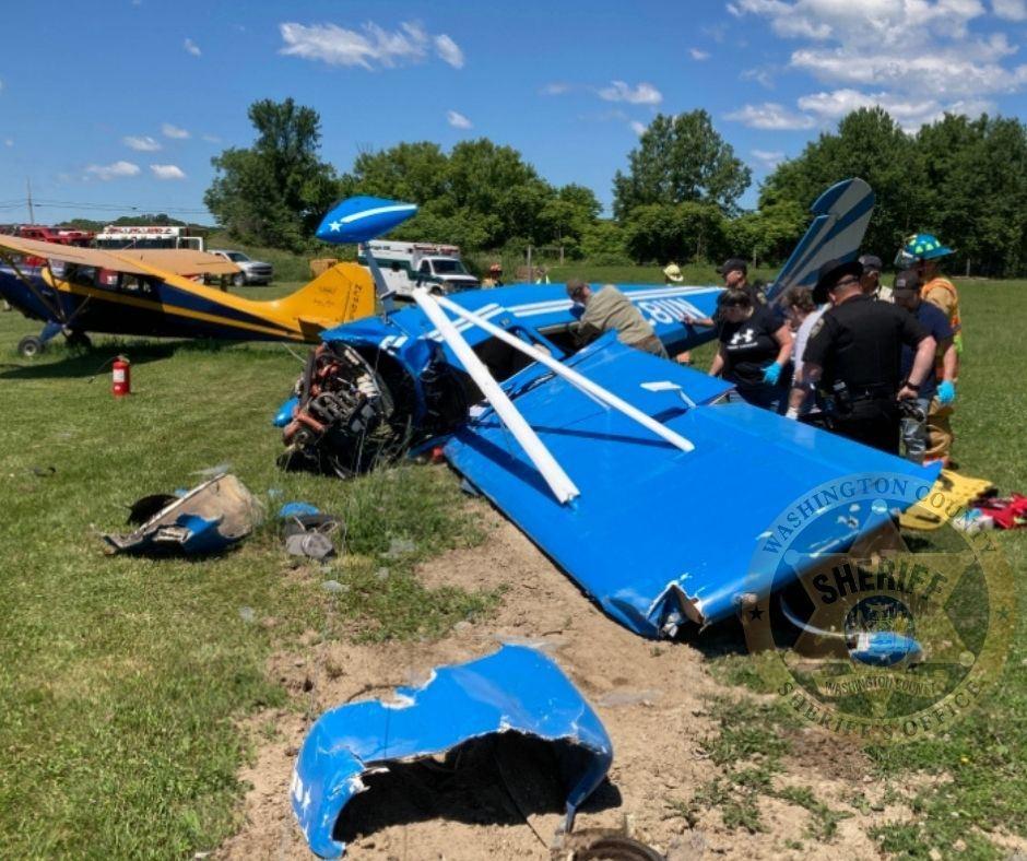David L. Klingebiel, 80, Salem, was injured in a small plane crash Thursday, June 17, 2021 in Argyle.