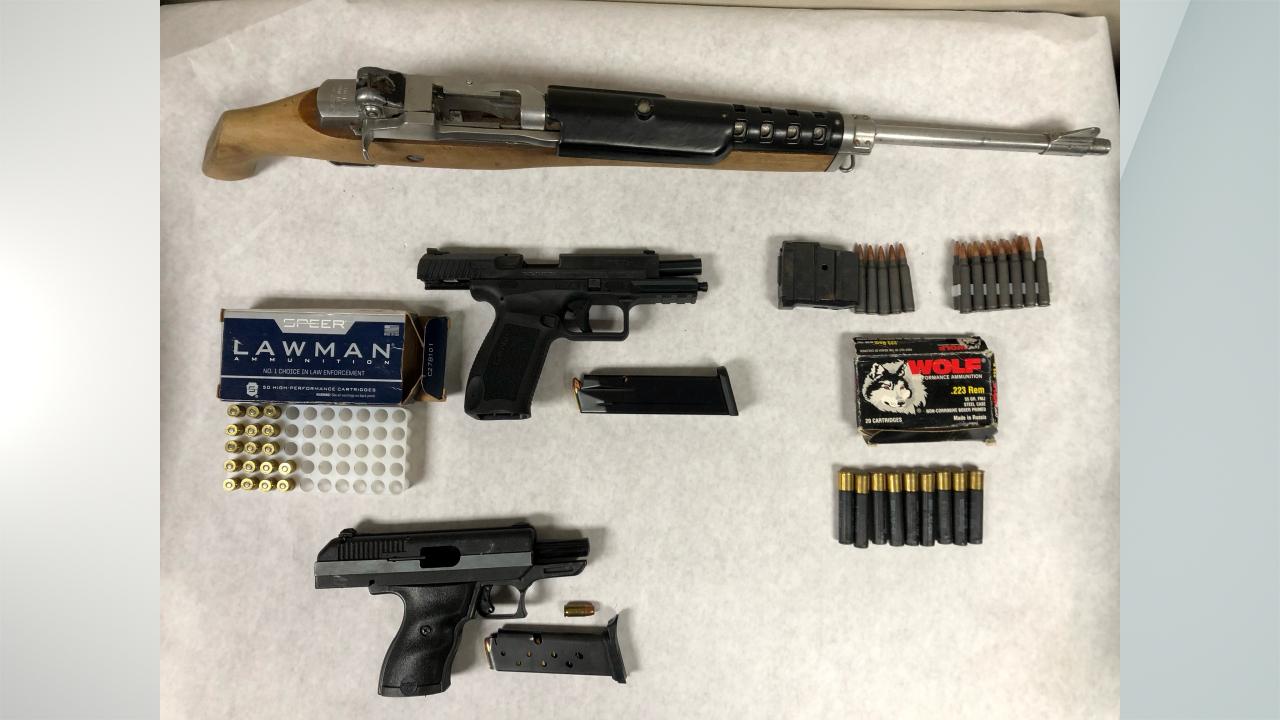 Cohoes Gun Arrest