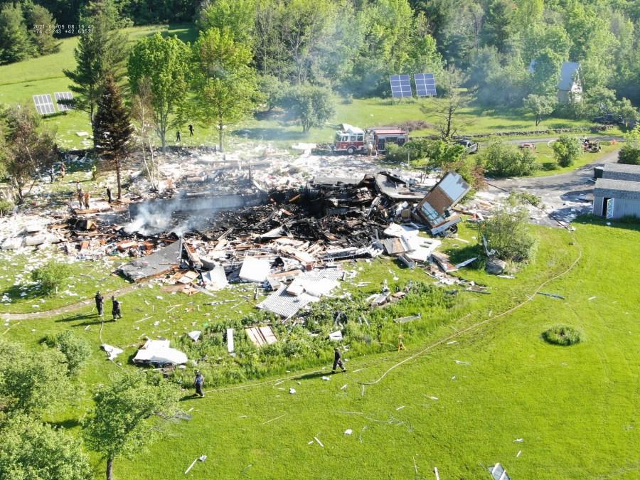 Berne House Explosion 1