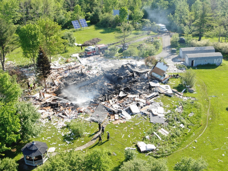 Berne House Explosion 2