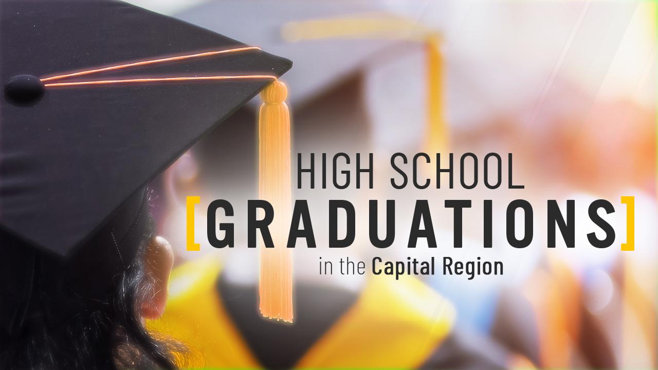 2021 high school graduations in the Capital Region