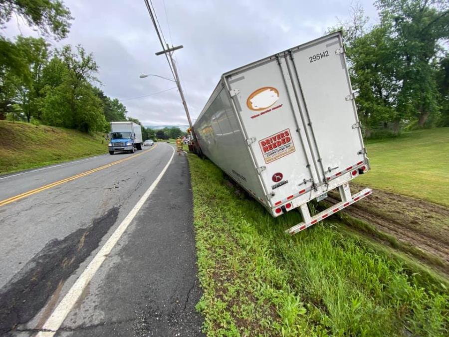 Tractor Trailer Crash Hoosick Falls 6
