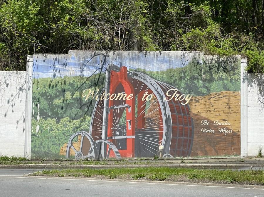 Water Wheel Mural