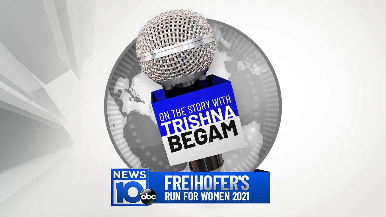 TRISHNA PODCAST LOGO_1280x720_FREIHOFERS RUN FOR WOMEN 2021