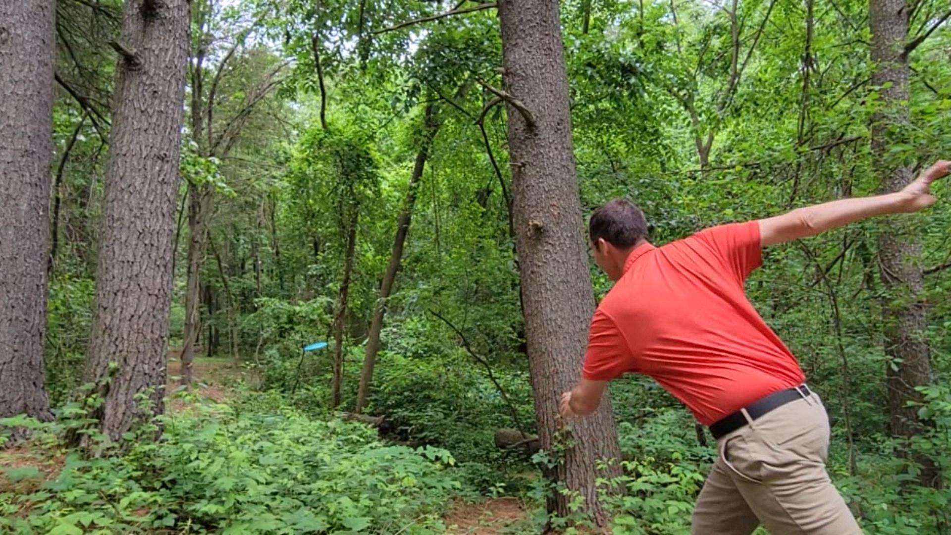 crandall park disc golf
