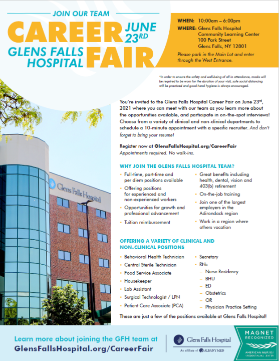 glens-falls-hospital-job-fair