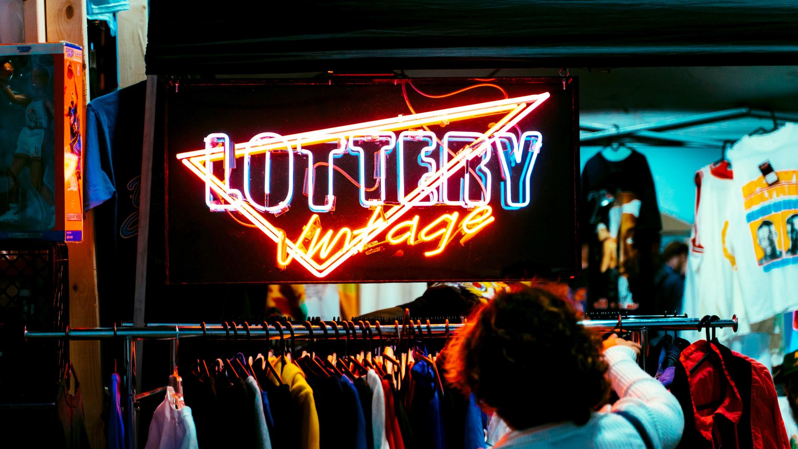 Vintage thrift store shopping. (Luis Montejo on Unsplash)