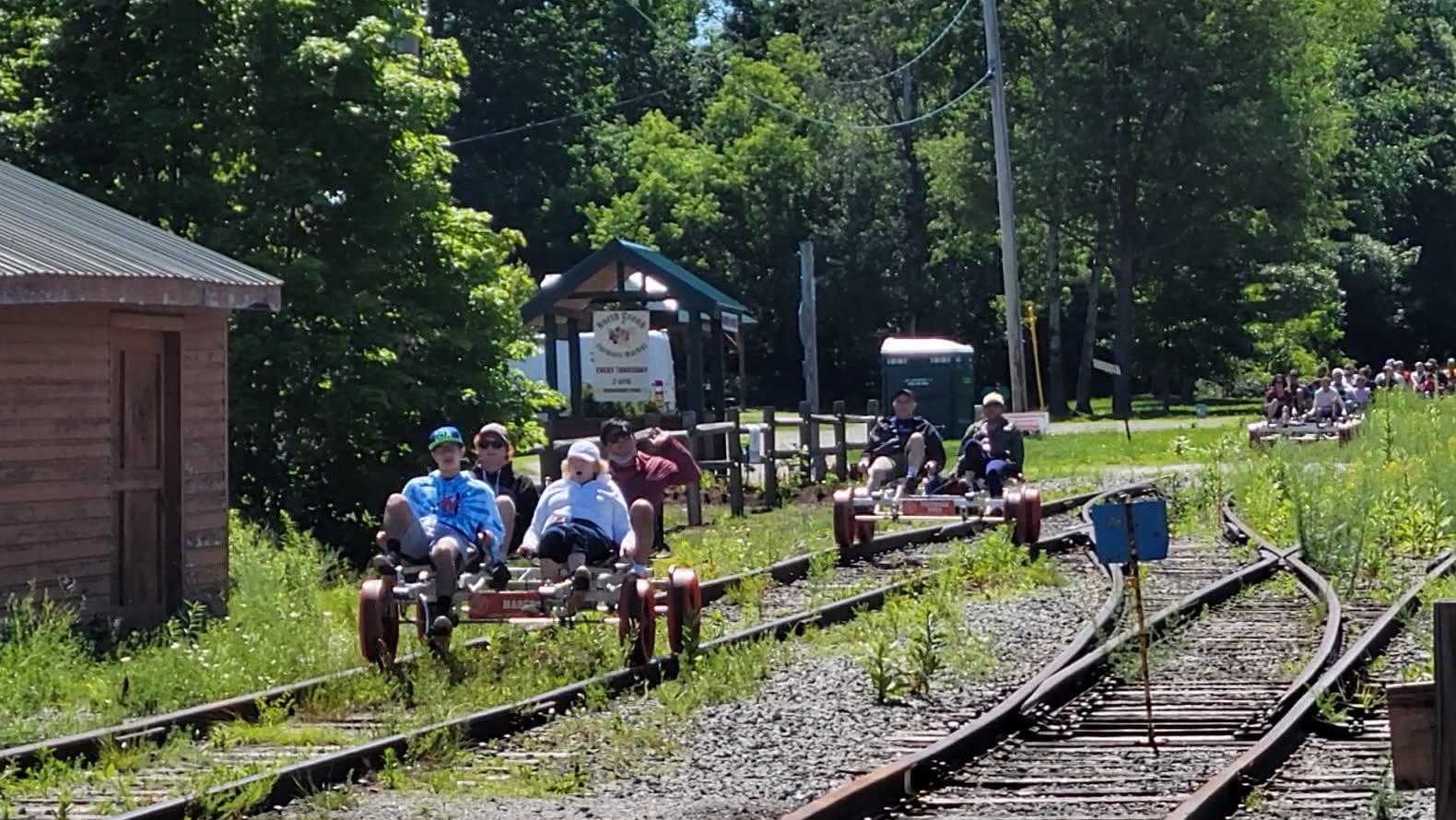 revolution rail co north creek