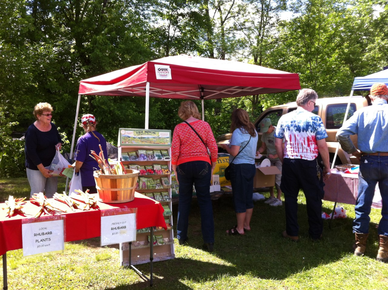 rhubarb festival warrensburgh riverfront farmers market