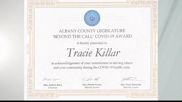 tracie killar award