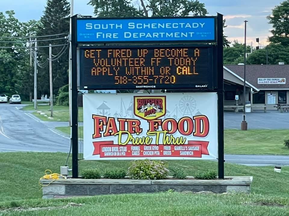 south schenectady fire department food truck weekend