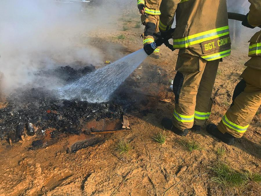 Rotterdam Fire District #2 responds to rubbish fire (Courtesy: RFD#2 Facebook page)
