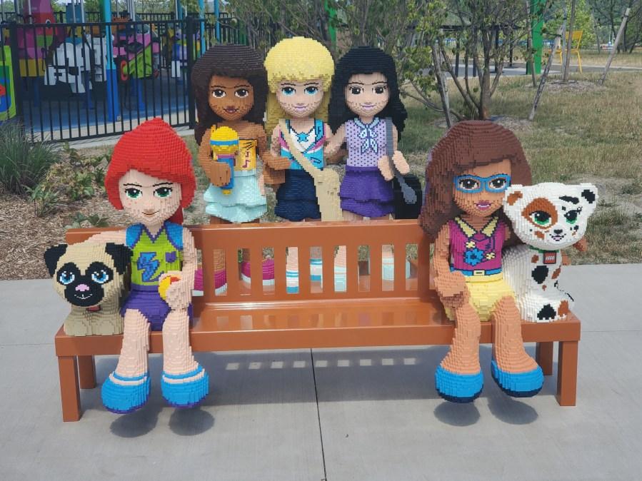 Friends Bench