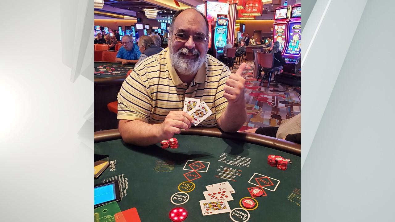 Paul Harter Jr. from East Greenbush won $295,331.45 at Rivers Casino and Resort.