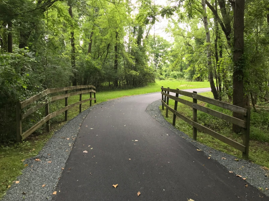 Resurfaced segment of Mohawk Hudson Bike Hike Trail (DOT)