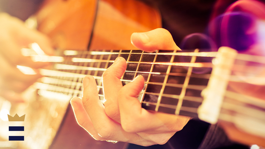 The modern acoustic guitar is descended from a long historical line of stringed instruments, including the lute, lyre, gittern and vihuela.