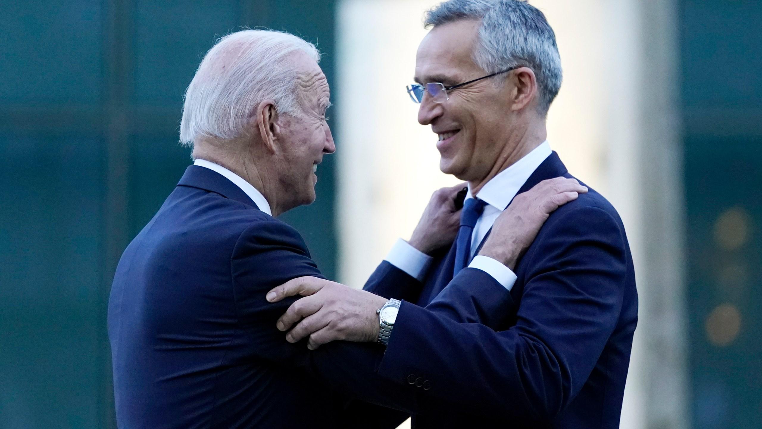 Joe Biden, Jens Stoltenberg