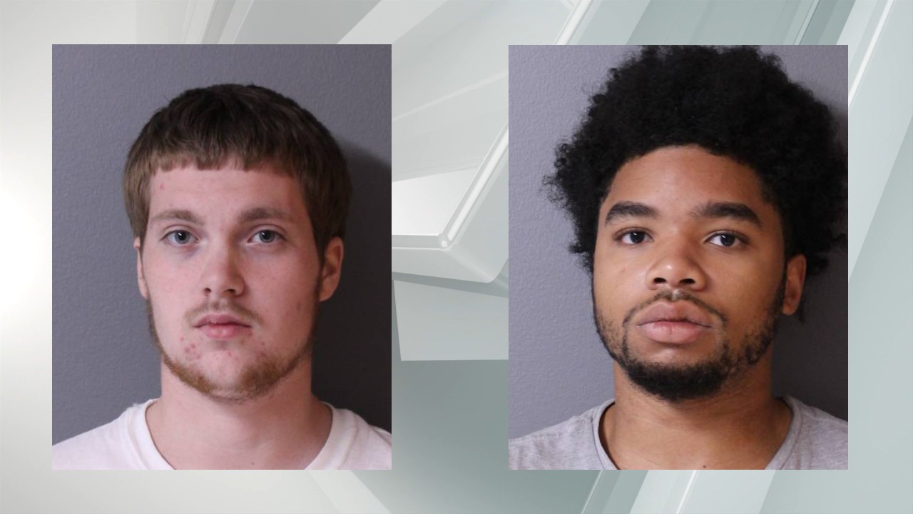 Suspects Joshua Wallace of Hudson, and Joseph Nicoletti of Copake.