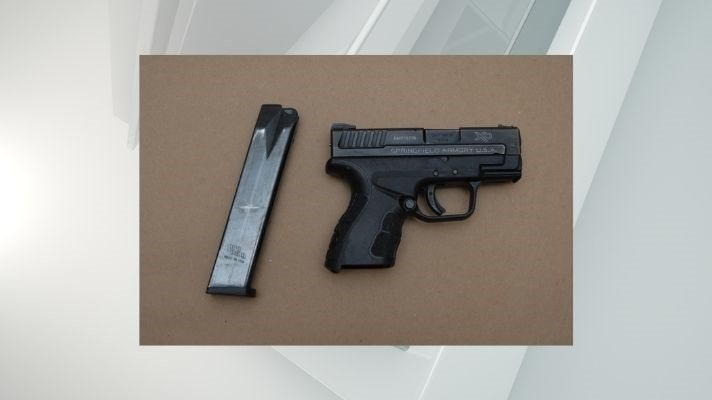 Albany man arrested, allegedly found with handgun and drugs
