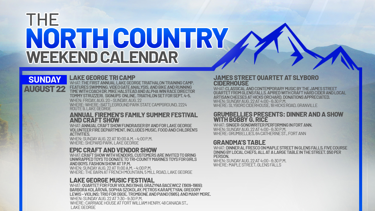 NORTH-COUNTRY-WEEKEND-CALENDAR_SUNDAY-AUGUST-22