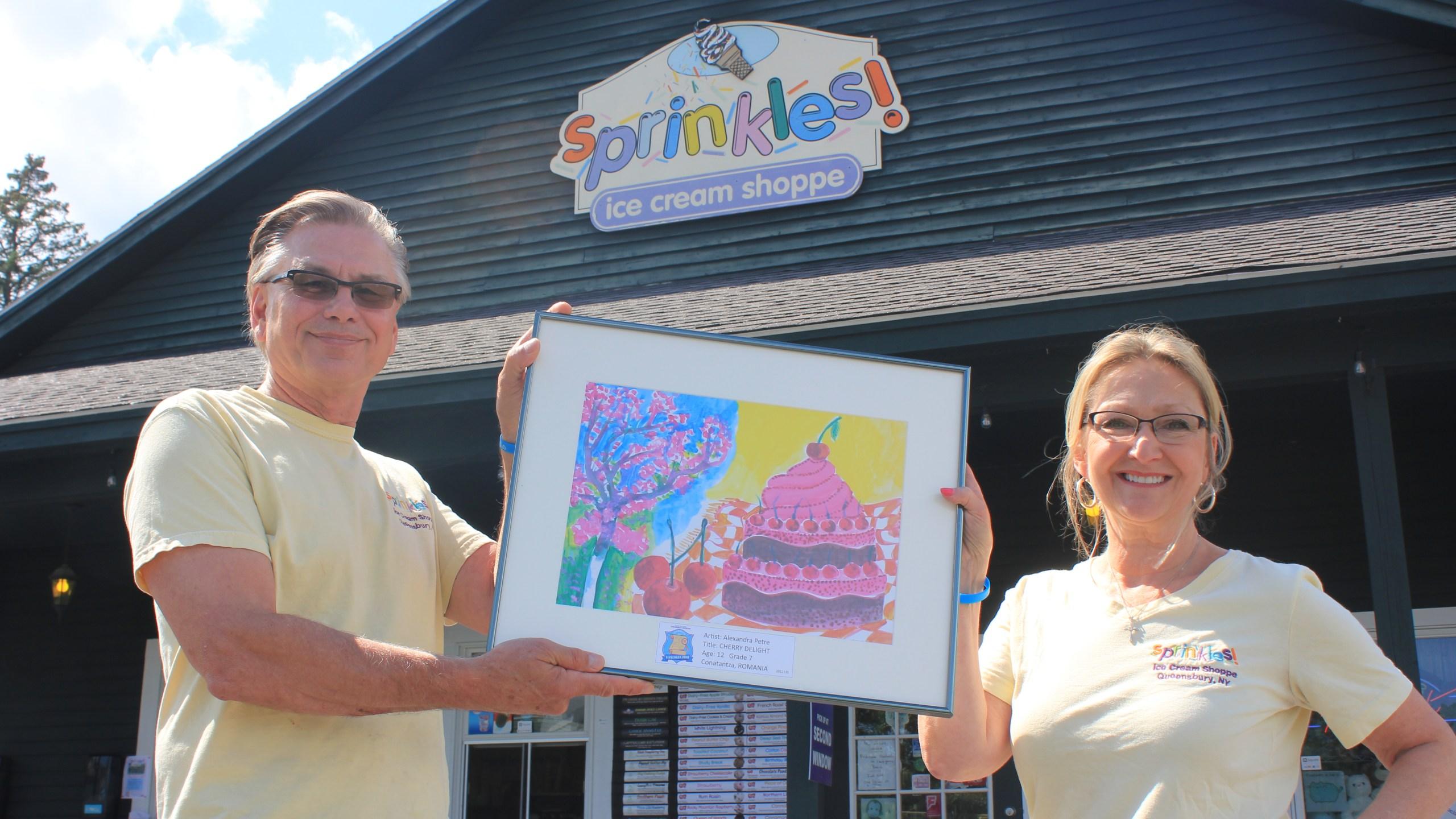 Sprinkles world awareness childrens museum scavenger hunt