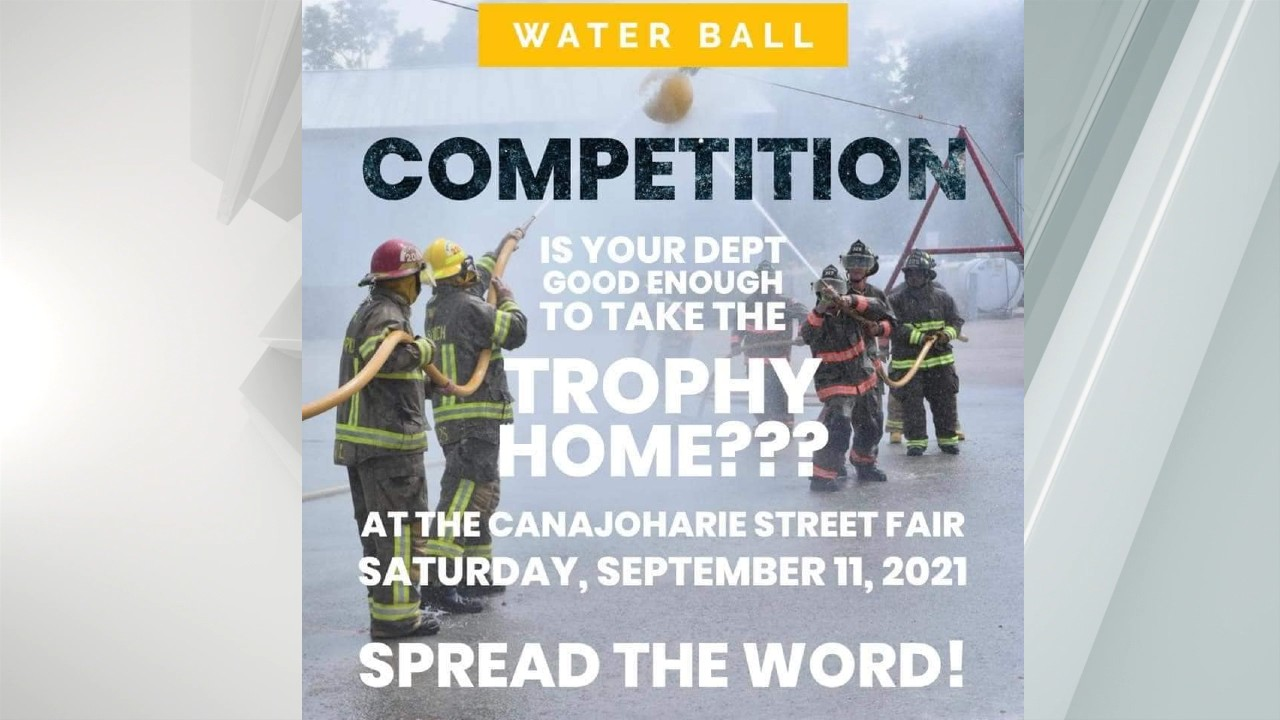 9/11 firefighter water ball competition