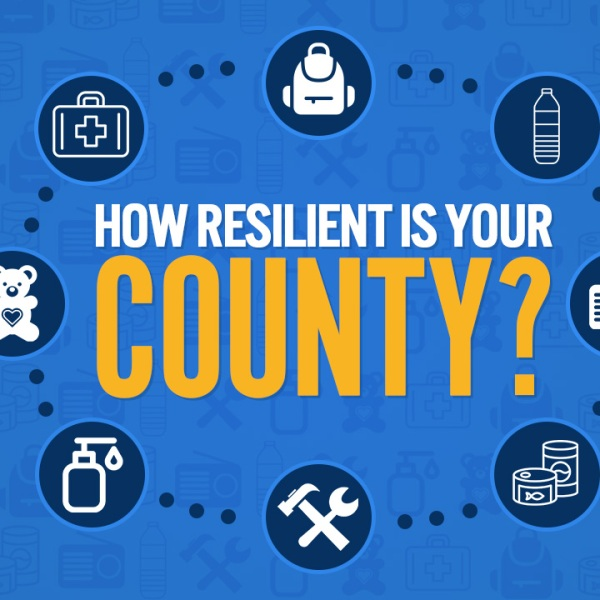 How easily can your county rebound after a disaster?