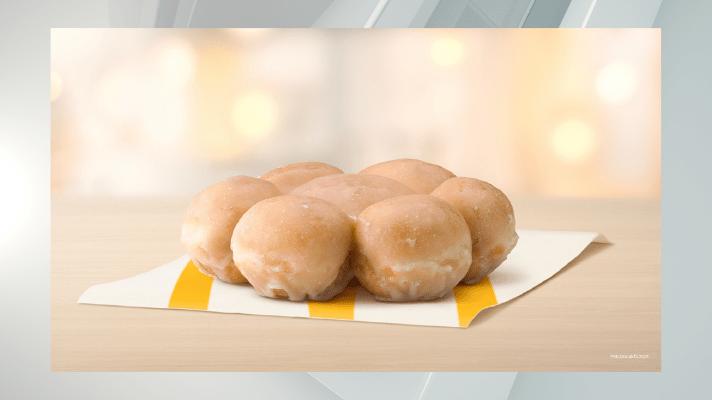 McDonald's new Glazed Pull Apart Donut