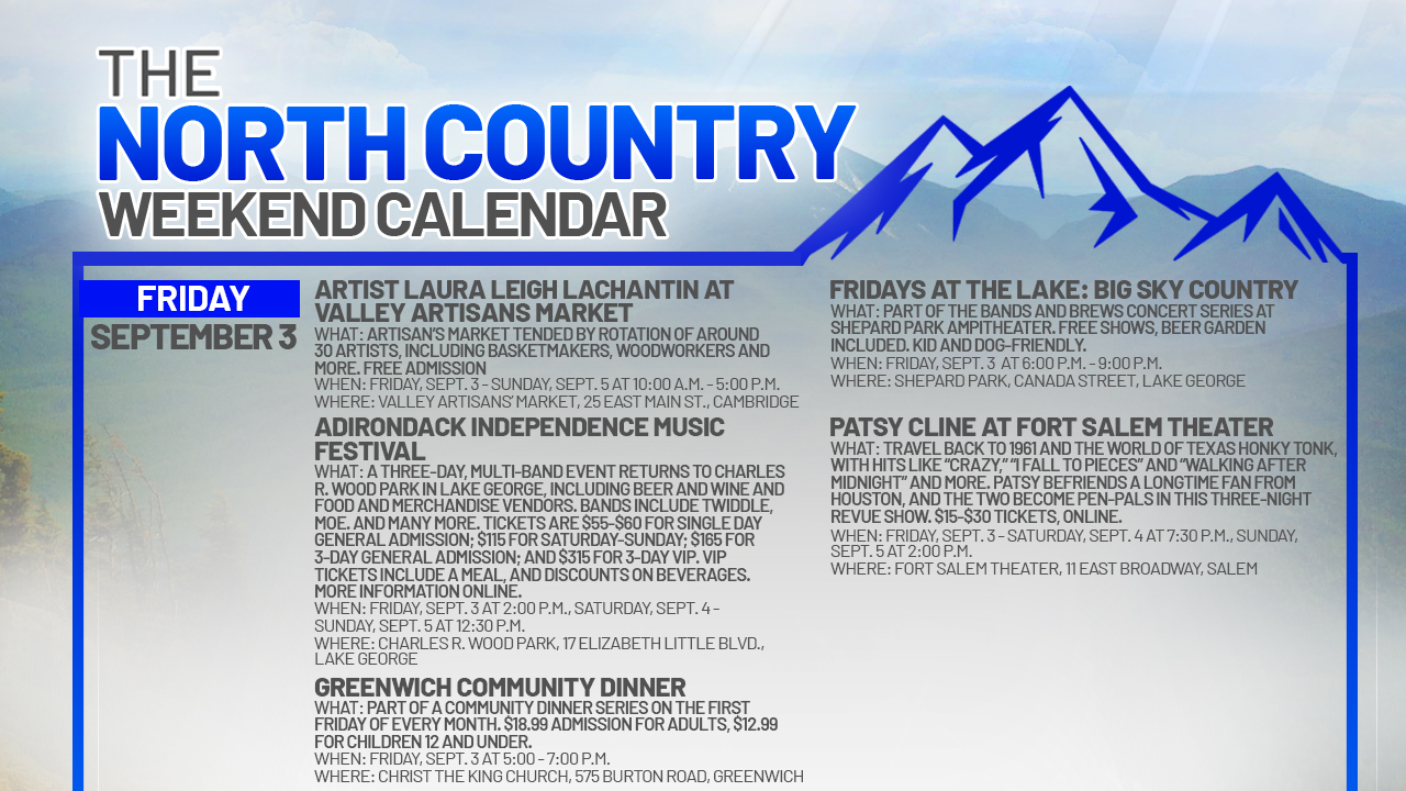 NORTH-COUNTRY-WEEKEND-CALENDAR_FRIDAY-SEPTEMBER-3