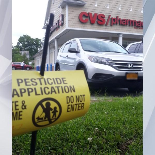Pesticide protest