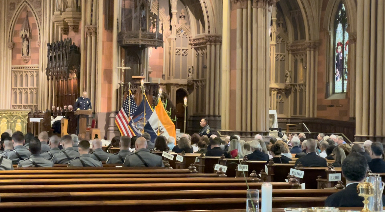 NY officers memorial mass