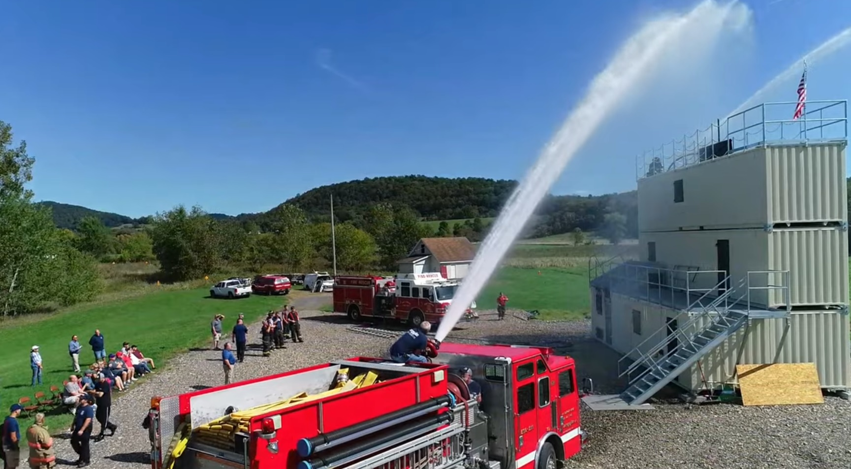fort edward argyle firefighter training building